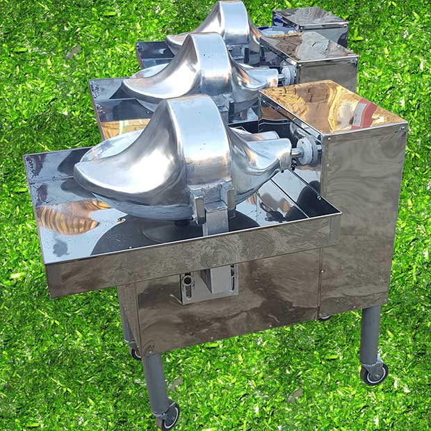 سبزی خردکن بشقابی صنعتی با قطر دهنه 60 سانتیمتر