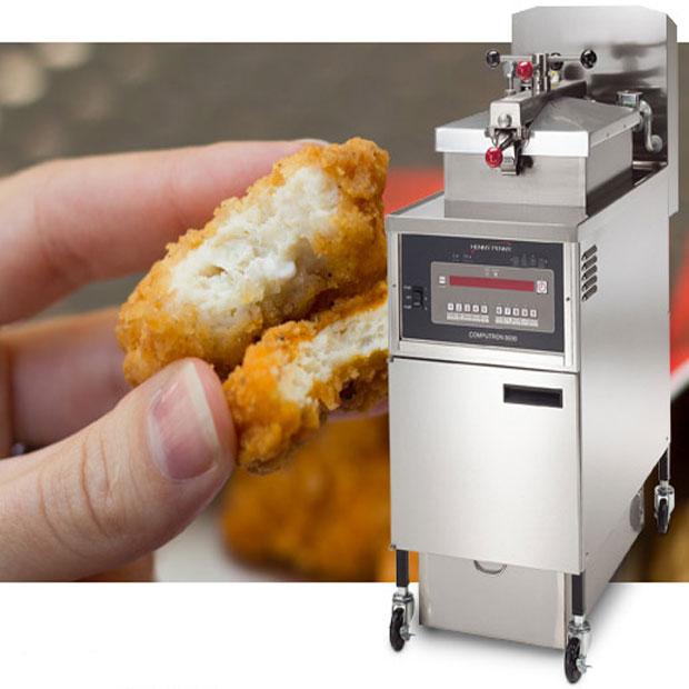 سرخ کن صنعتی هنی پنی آمریکایی دستگاه مرغ سوخاری