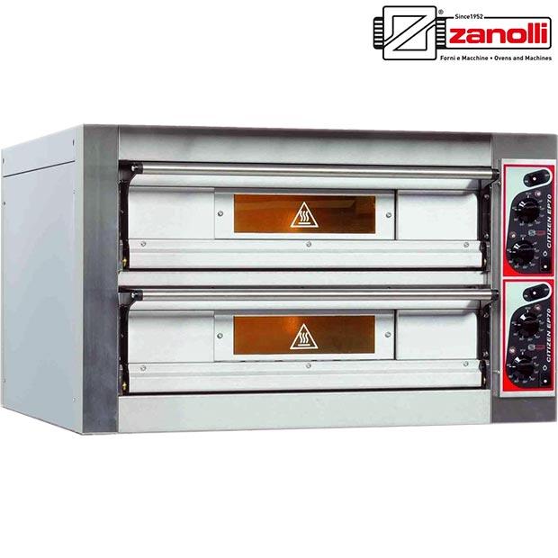 فر سنگی پیتزا زانولی ایتالیا مدل ZANOLLI CITIZEN EP70