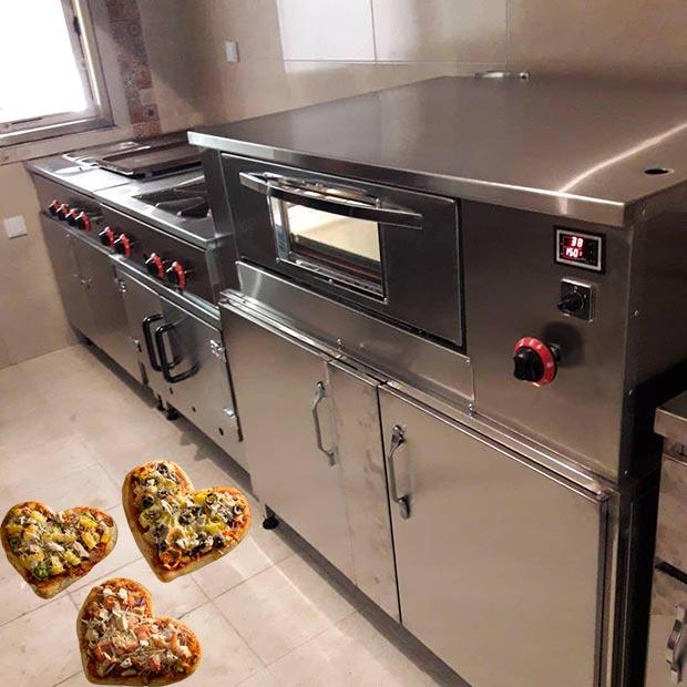 فر پیتزای اتوماتیک صندوقی پخت ایتالیایی آمریکایی