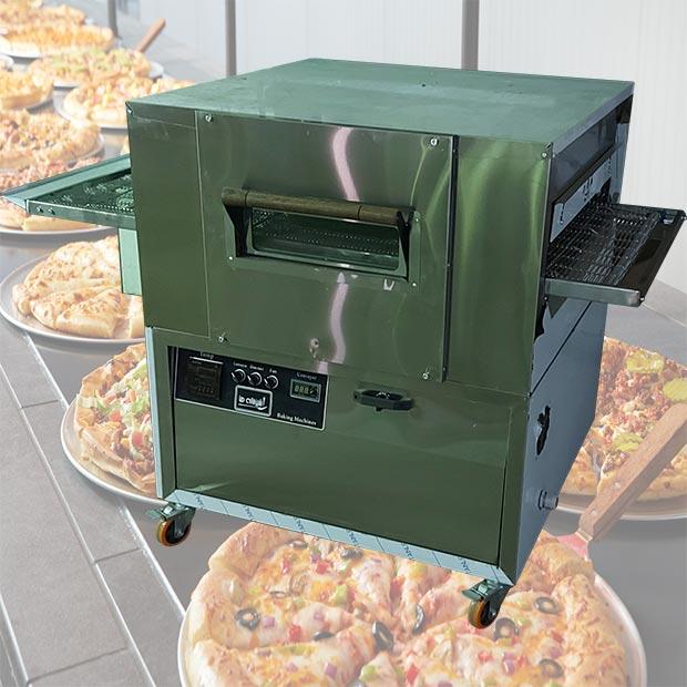 فر پیتزا پز ریلی دهنه 72 سانتیمتر موتور پایین