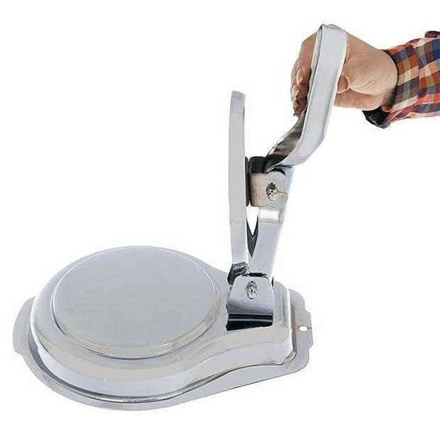 قالب همبرگر زن چهارده سانتیمتر دستی جنس آبکاری
