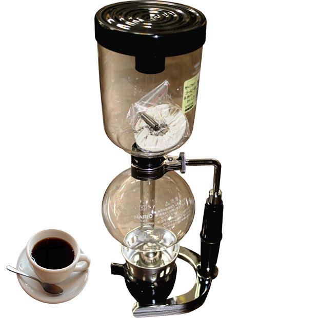 قهوه ساز سایفون هاریو سه کاپ