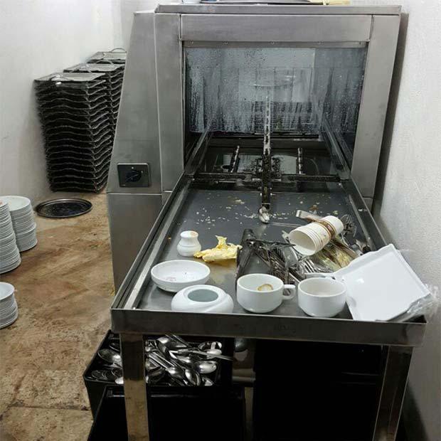 ماشین ظرفشویی صنعتی ایرانی تونلی