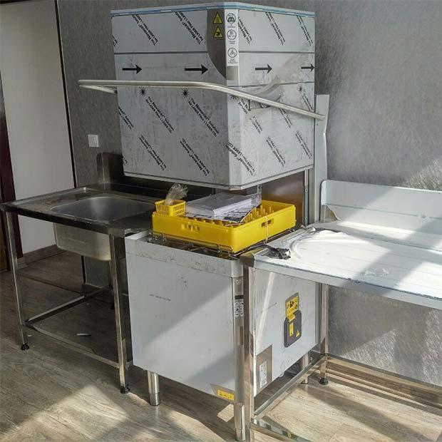 ماشین ظرفشویی صنعتی مدل هود گرین کلین الکترولوکس