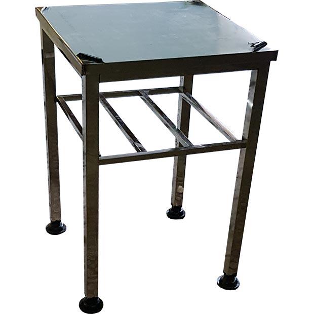 میز استیل صنعتی طول 60 سانتیمتر