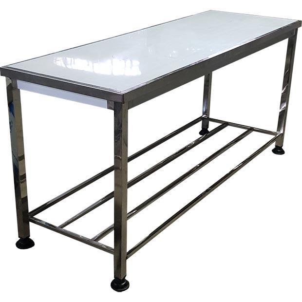 میز کار استیل صنعتی قصابی طول 190 سانتیمتر
