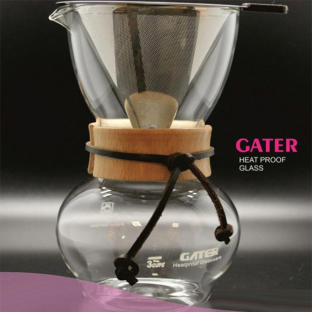 میل دریپر قهوه فیلتر استیل سه کاپ