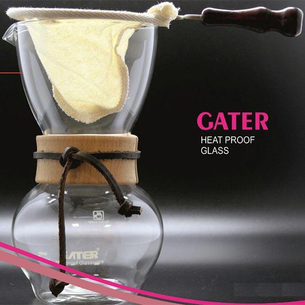 میل دریپر گاتر با شیشه مقاوم به حرارت