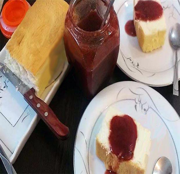 چیز کیک پنبه ای ژاپنی
