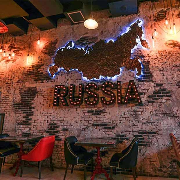 کافه رستوران روسیه ای راشا در مرزداران تهران