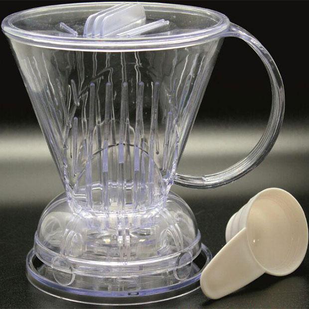 کلور قهوه ساز دریپر ضامن دار شیشه ای