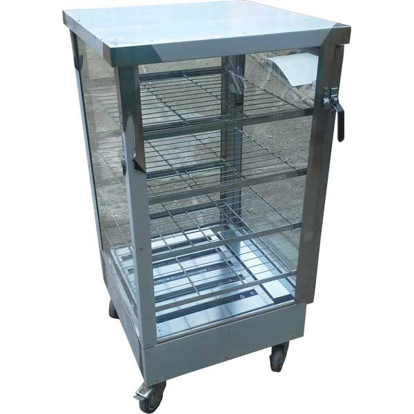 گرمخانه ویترینی پنج طبقه شیشه ای