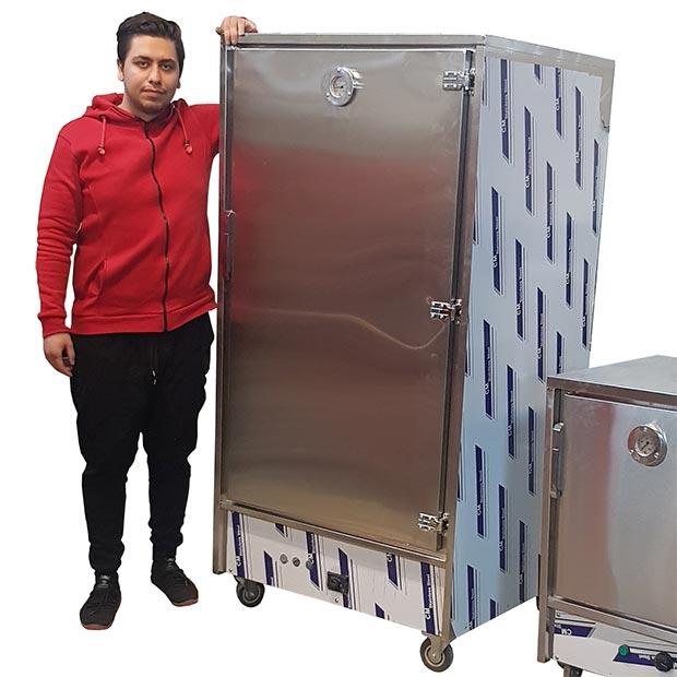 گرمکن غذا 100 نفره پرسنلی گازی درجه عقربه ای