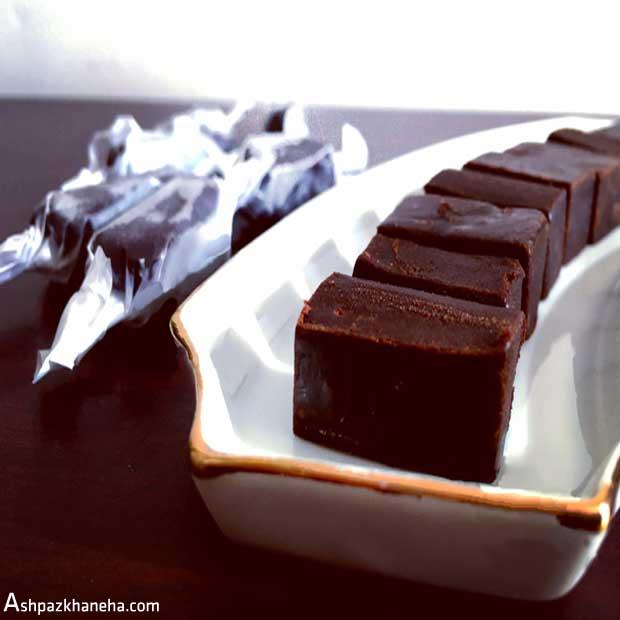 تافی شکلاتی عسلی کاراملی کره ای