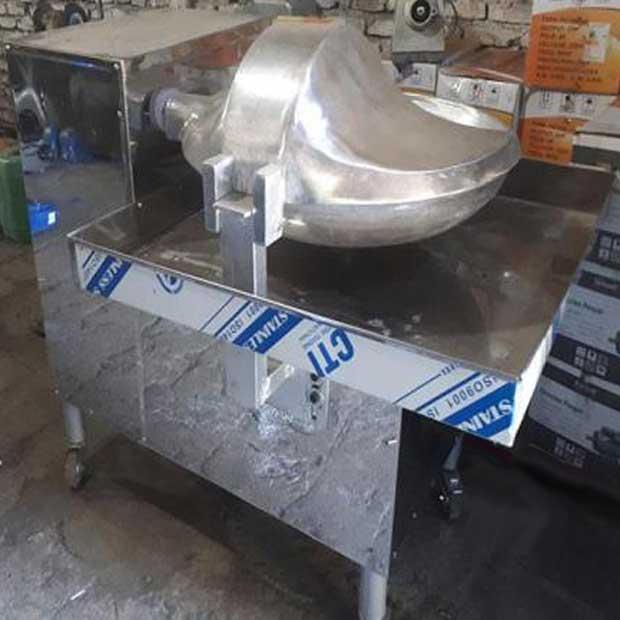 دستگاه سبزی خردکن صنعتی بشقابی دهنه70سانتیمتر