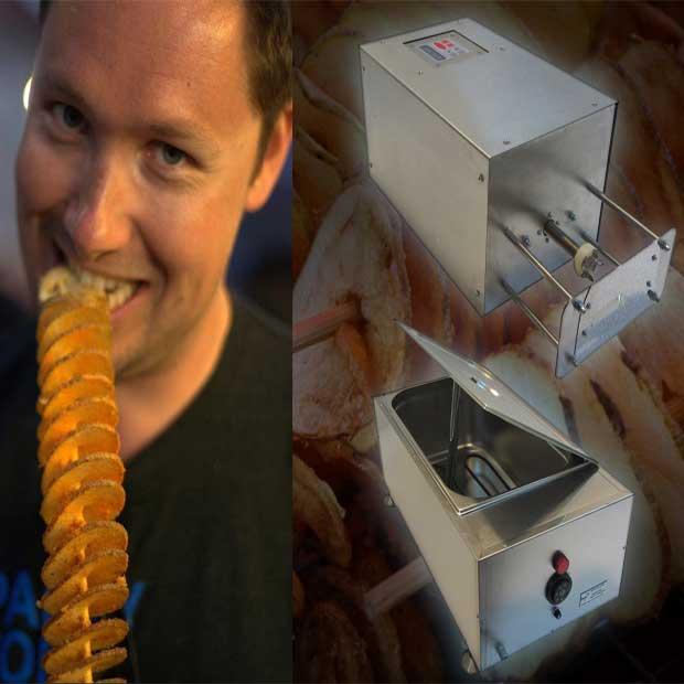 دستگاه فرچیپس برقی استیل