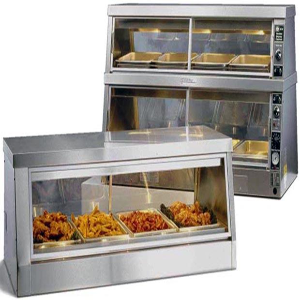 دستگاه گرمخانه دیسپلی طرح آمریکایی مرغ سوخاری
