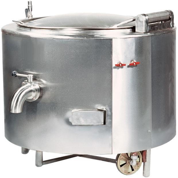 دیگ خورشت پز صنعتی استوانه ای جوشی 100لیتری