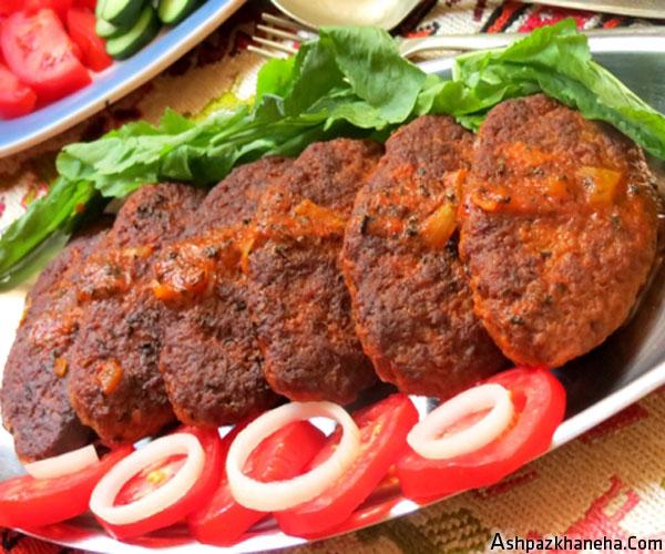 شامی هویج با گوشت چرخ کرده