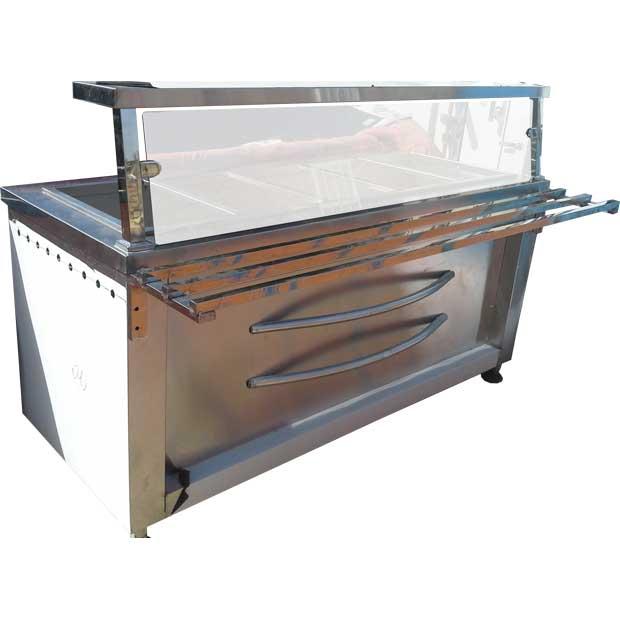 کانتر گرم سلف سرویس فروشگاه رفاه
